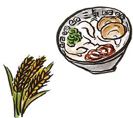 福岡県産ラーメン用小麦