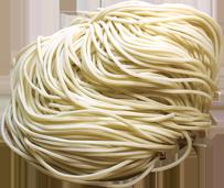 ラー麦100%使用細麺